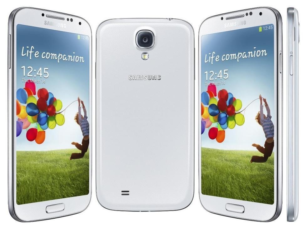 Samsung Galaxy S4 | Fecha de lanzamiento: 2013 | Millones de unidades vendidas: 80