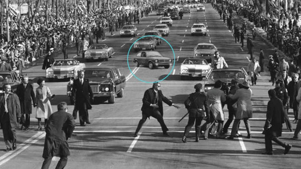 3. Chevrolet Chevette Scooter (1977) para el presidente Jimmy Carter