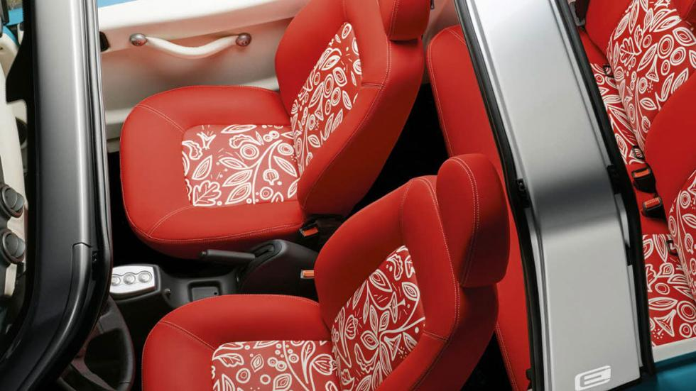 Citroën E-Mehari asientos
