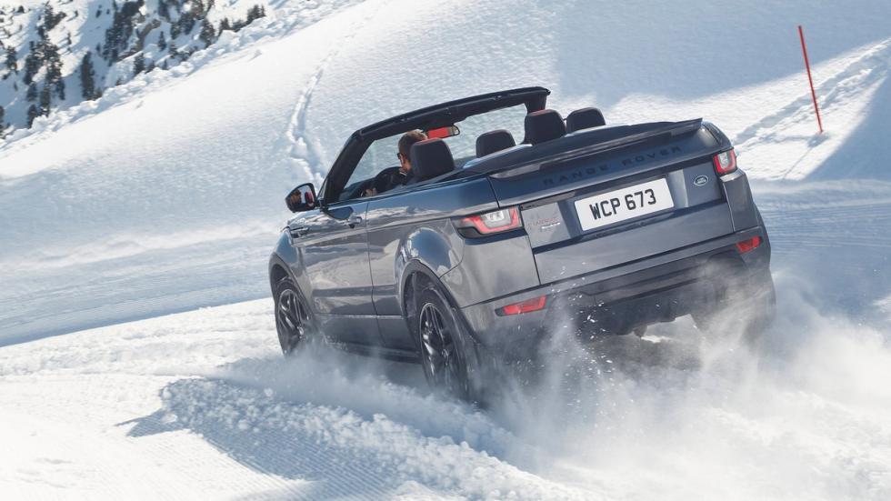 mejores-coches-viajar-invierno-Range-Rover-Evoque-Convertible-zaga