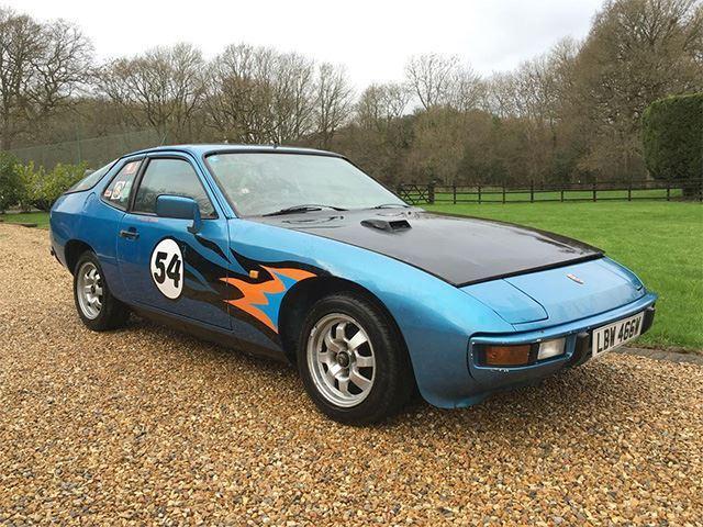 A subasta el Porsche 924 de Top Gear
