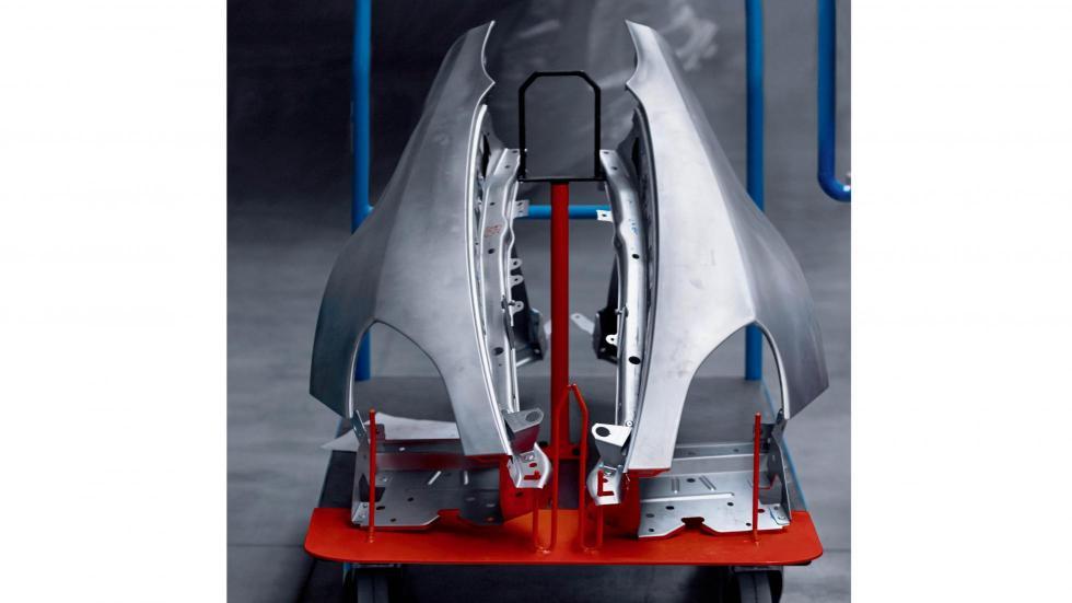 Alpine AS 1 2017, carrocería de aluminio (II)