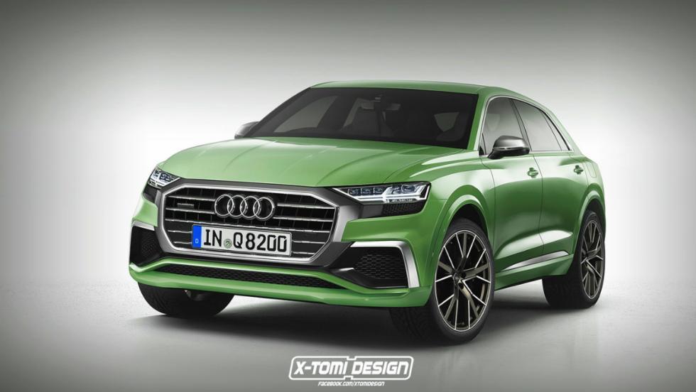 Audi Q8 de producción