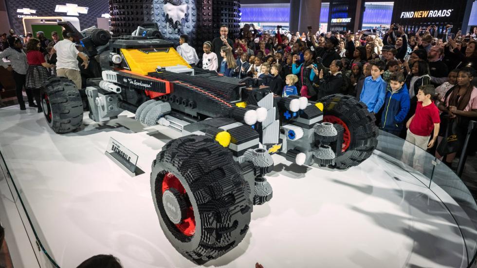 Batmóvil de Lego, versión Chevrolet (III)