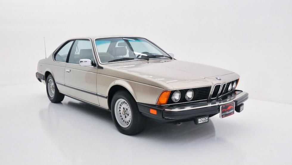 BMW 633 CS de 1984