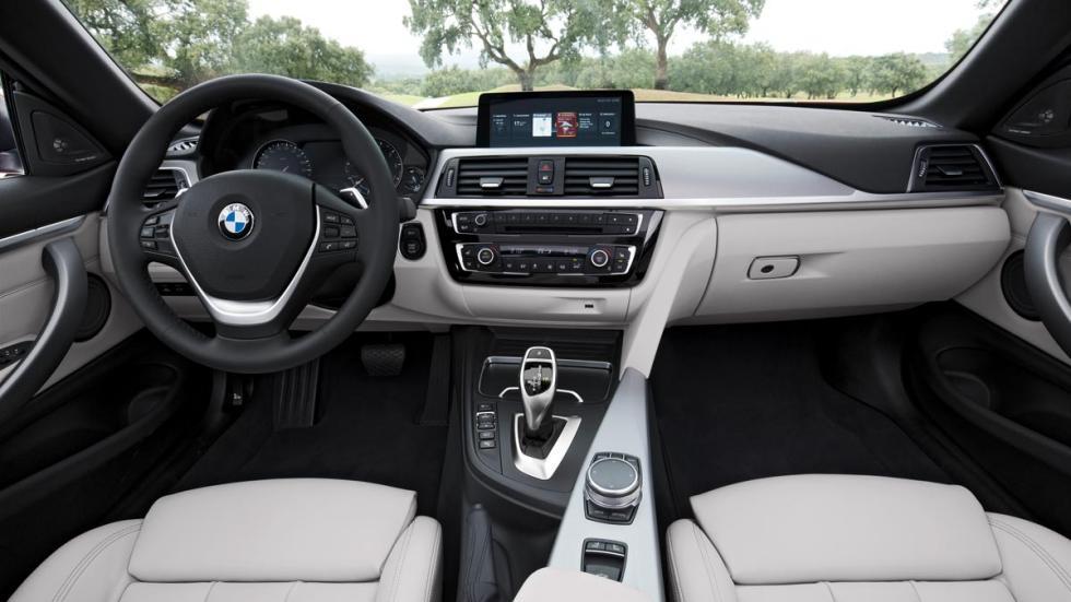 BMW Serie 4 2017 Gran Coupé interior lujo cuero