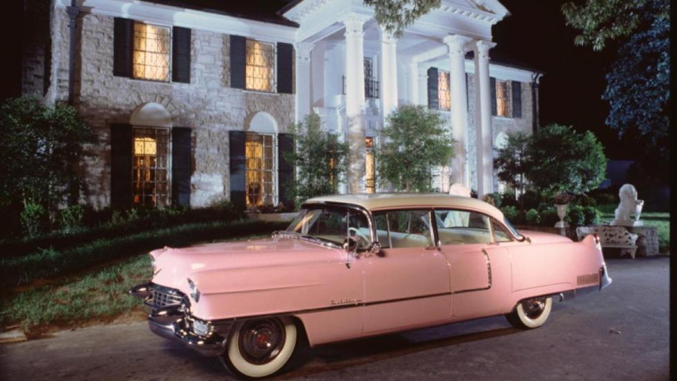 El Cadillac rosa, uno de los preferidos del Rey del Rock