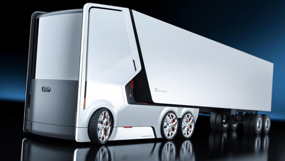 Camión eléctrico Audi (V)