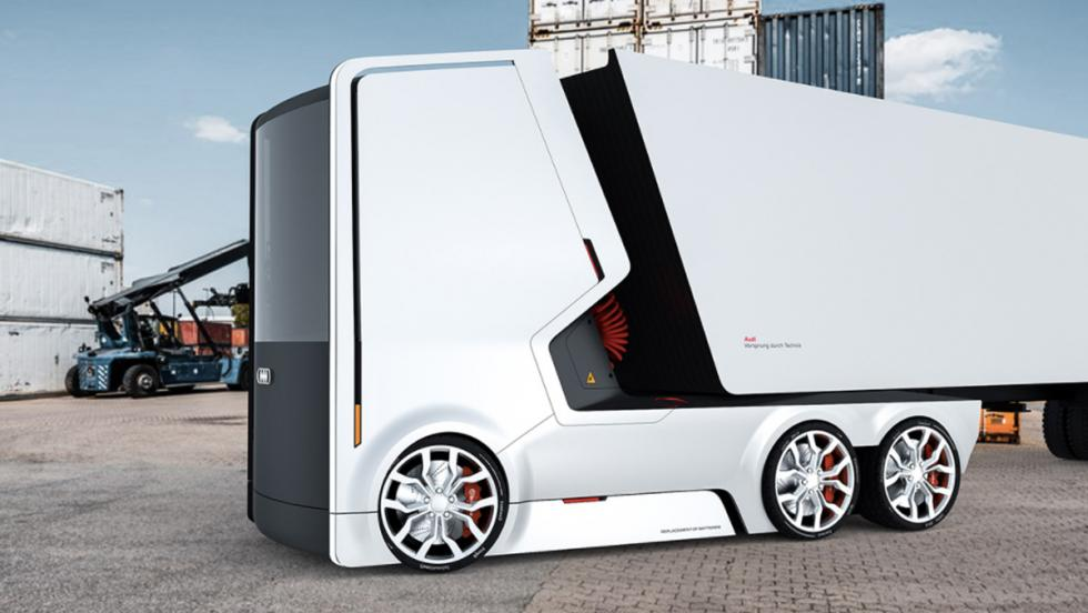 Camión eléctrico Audi (VI)