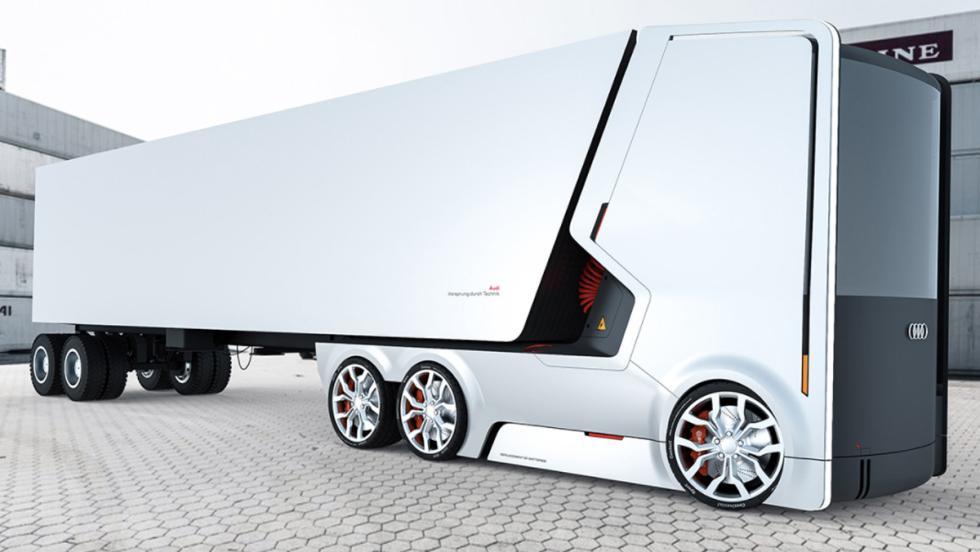 Camión eléctrico Audi (VII)