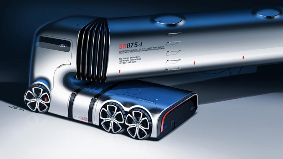 Camión eléctrico Audi (X)