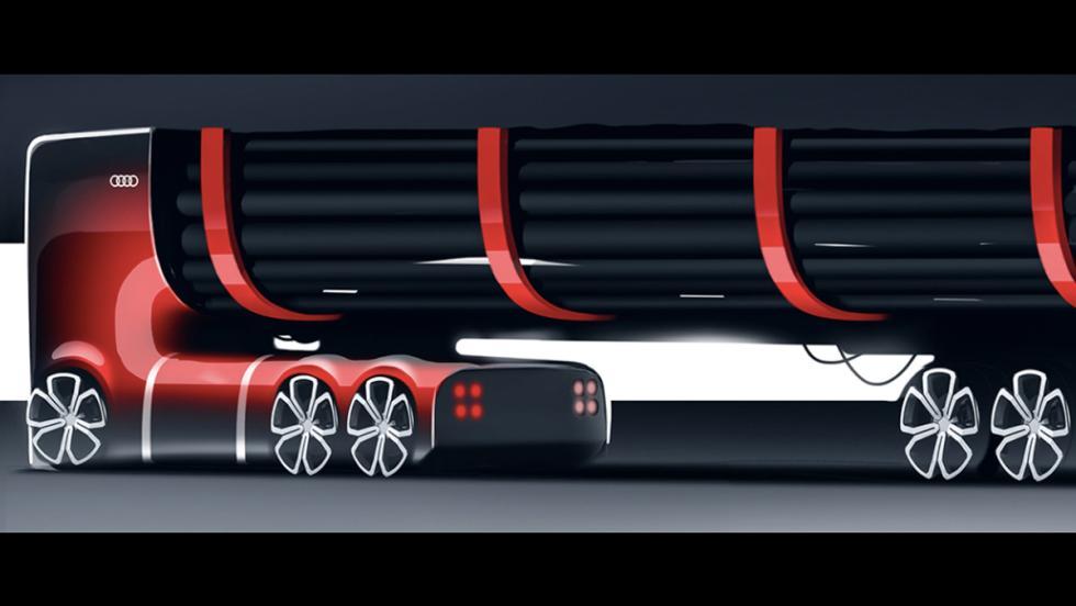 Camión eléctrico Audi (XII)