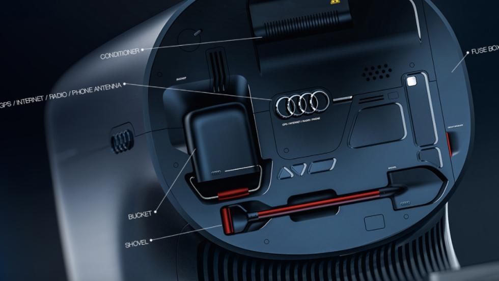 Camión eléctrico Audi (XIII)
