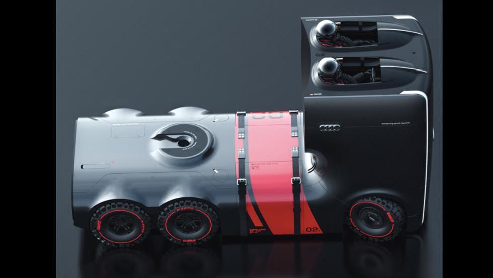 Camión eléctrico Audi (XIX)