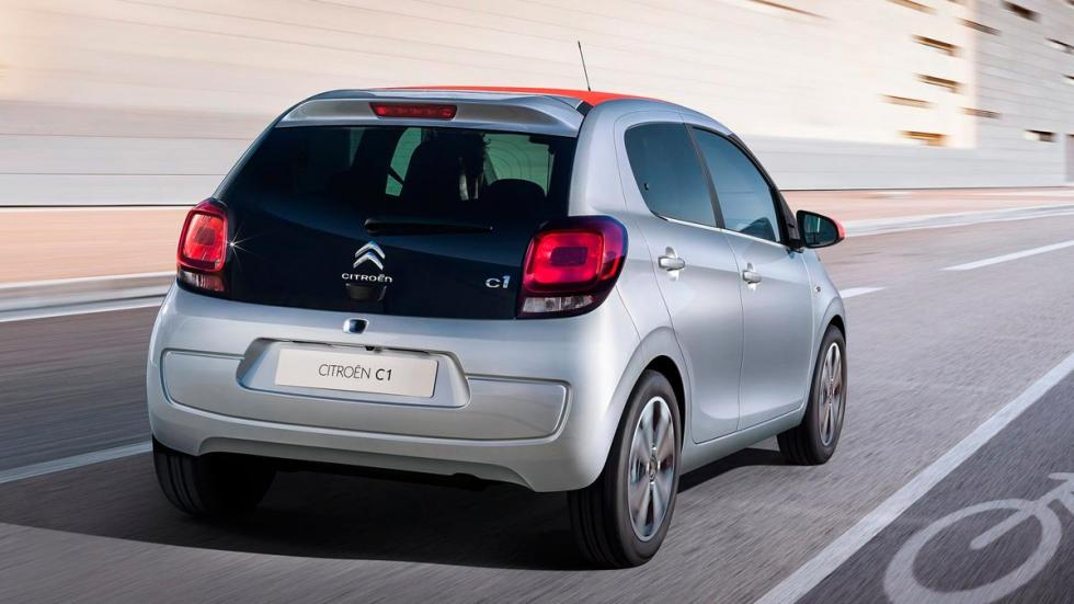 Citroën C1 utilitario urbano
