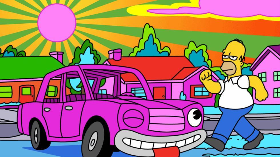 El coche de Homer Simpson