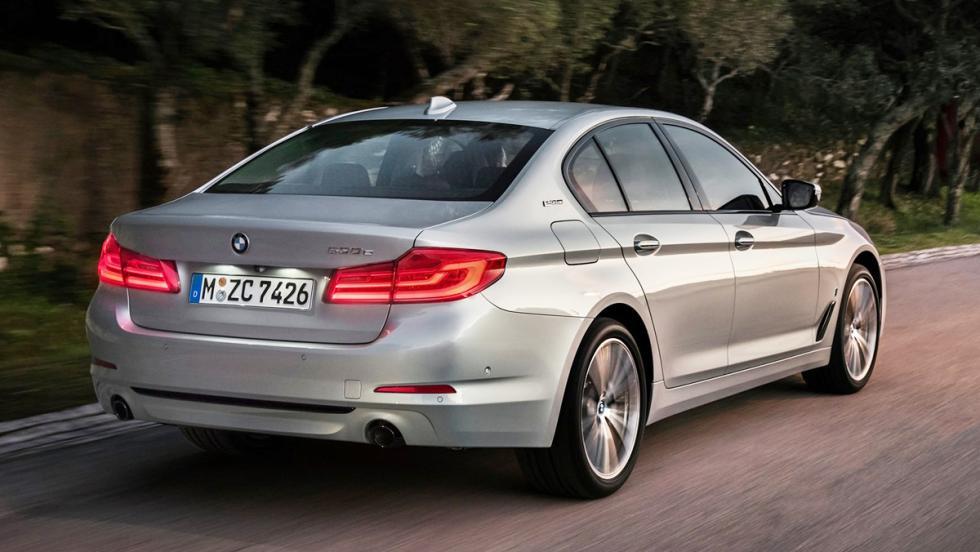 Coches híbridos para 2017 que no te harán llorar - BMW Serie 5 2017 iPerformance