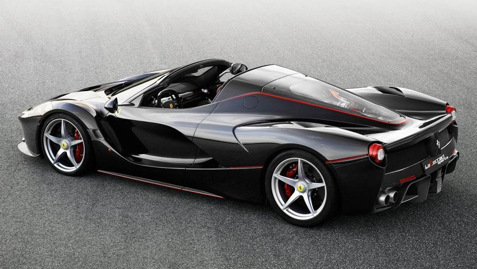 Coches híbridos para 2017 que no te harán llorar - Ferrari LaFerrari Aperta