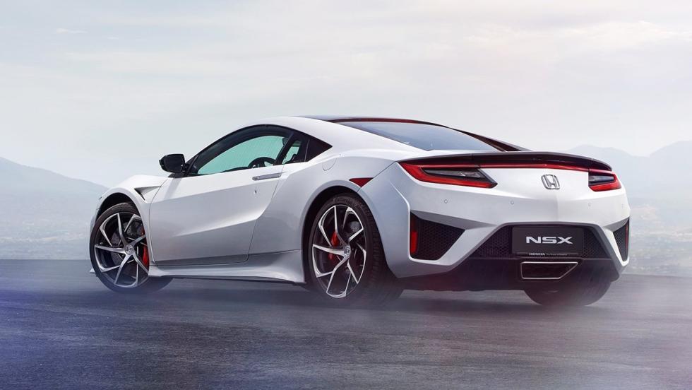 Coches híbridos para 2017 que no te harán llorar - Honda NSX