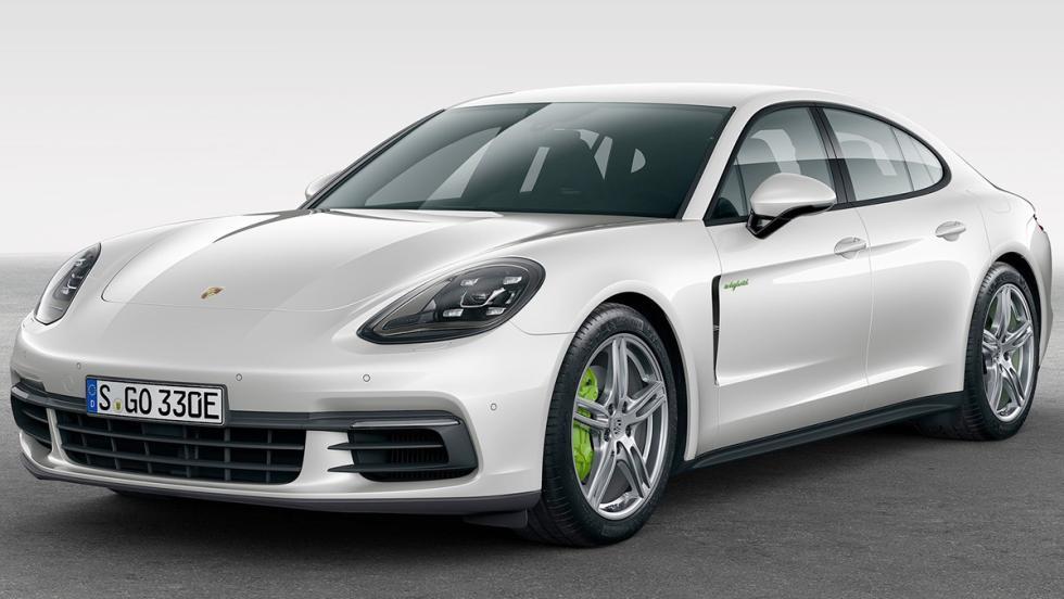 Coches híbridos para 2017 que no te harán llorar - Porsche Panamera E-Hybrid