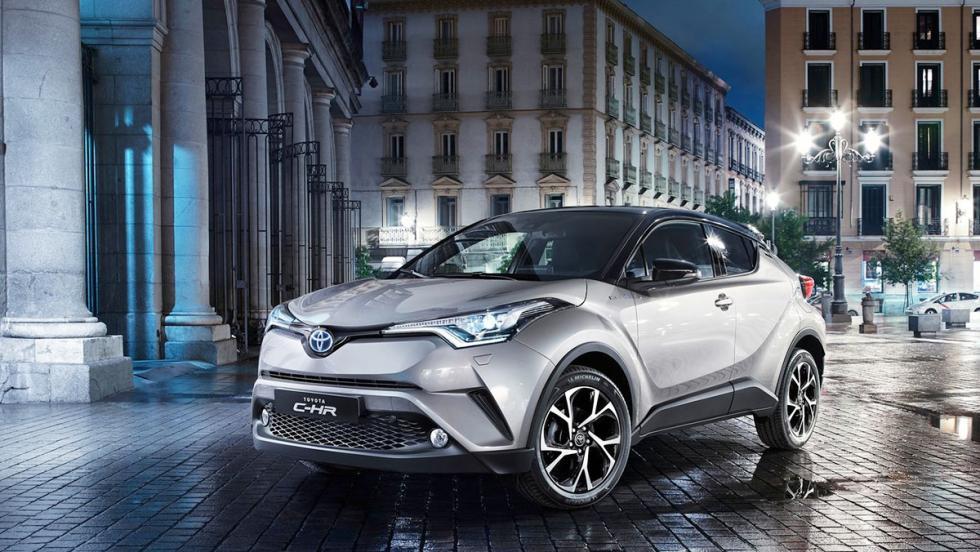 Coches híbridos para 2017 que no te harán llorar - Toyota C-HR