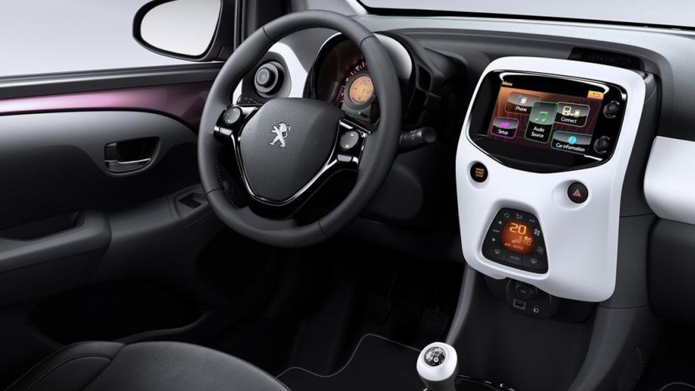 Coches nuevos entre 10000 y 15000 euros: Peugeot 108 (II)