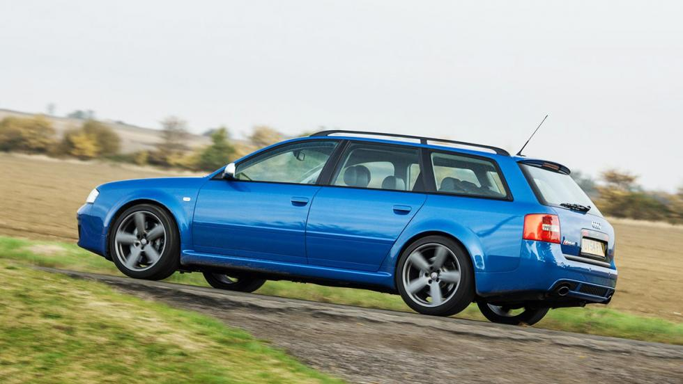 Cohetes que puedes comprar entre 8.000 y 130.000 euros - Audi RS6 - 14.000 euros