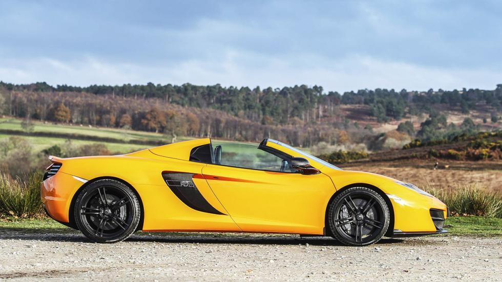 Cohetes que puedes comprar entre 8.000 y 130.000 euros - McLaren 12C - 130.000 euros