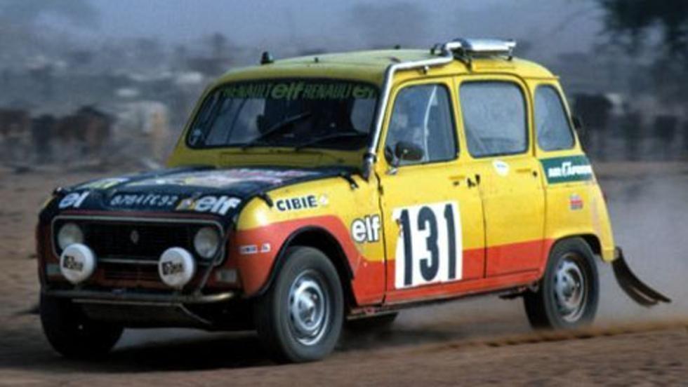 El cuatro latas con el que los hermanos Marreau terminaron quintos en el primera edición del Dakar, en 1979