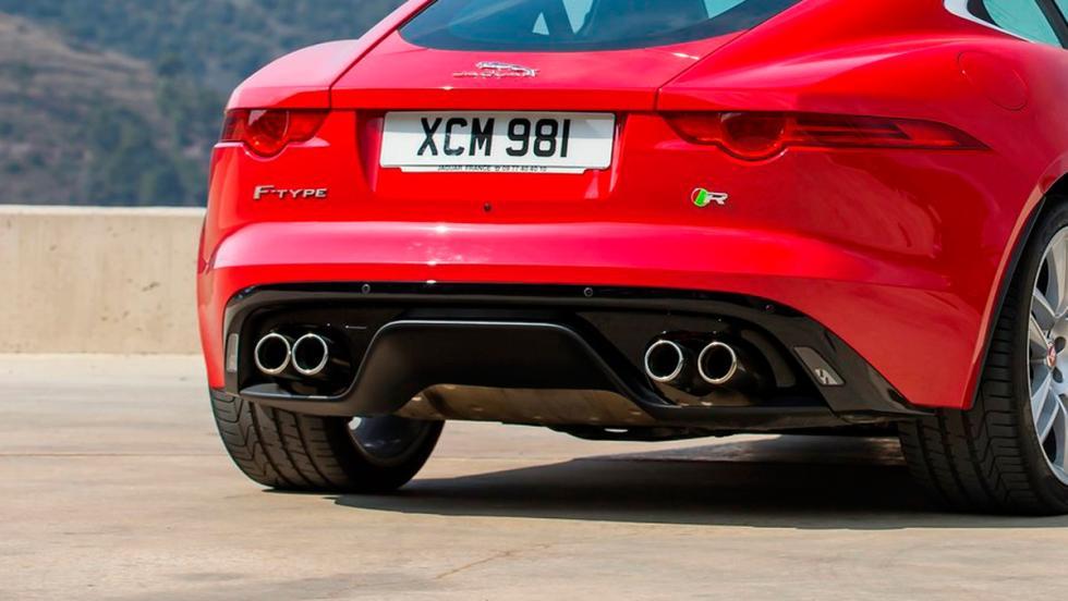 Jaguar F-Type-R sonido