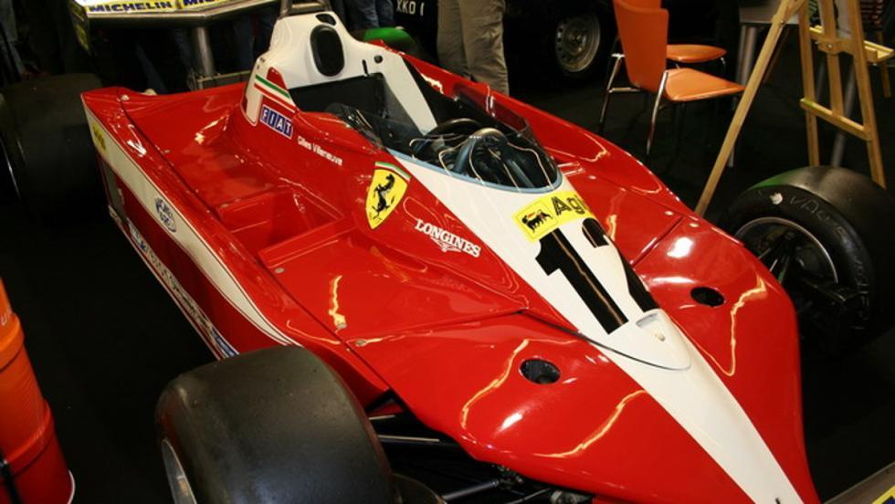 Ferrari 312 T que fue pilotado por Gilles Villeneuve