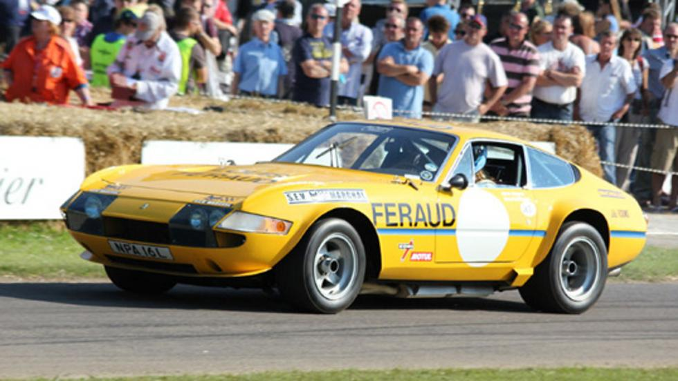 El Ferrari 365 GTB/4 Daytona de Nick