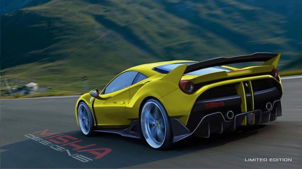 Ferrari 488 de Misha Designs