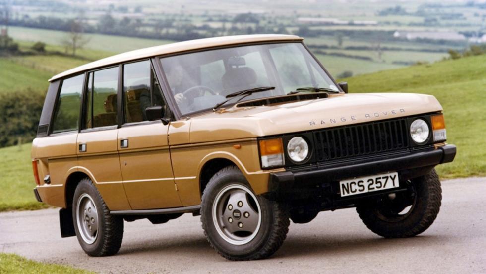 La historia del Range Rover - Primera generación - 1981