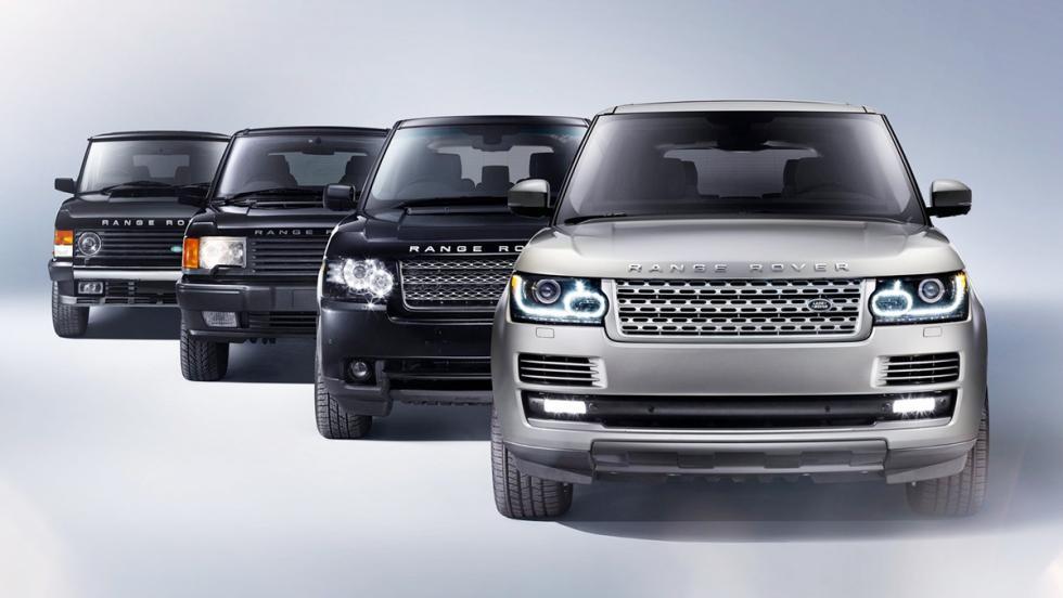 La historia del Range Rover