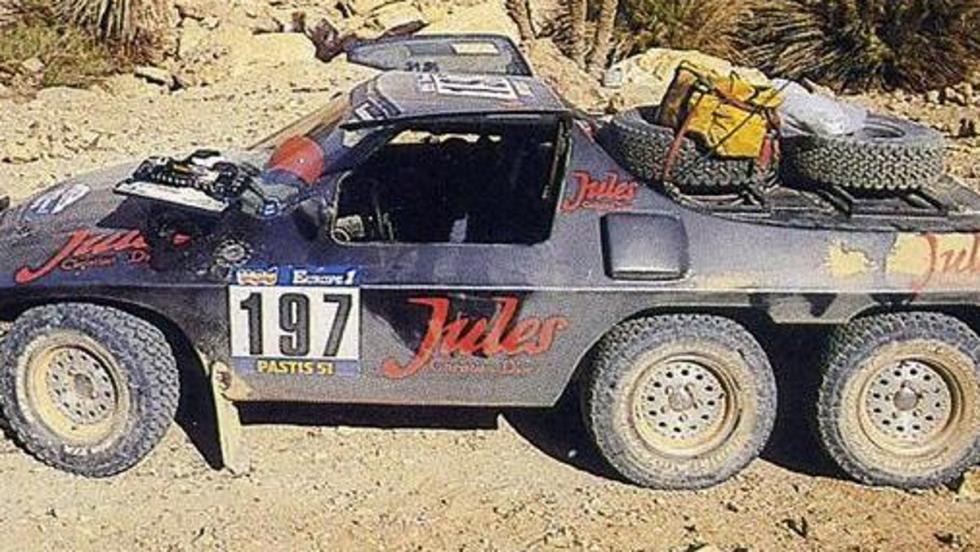 El Jules II 6x4 Proto, un arma de fallos masivos en el desierto