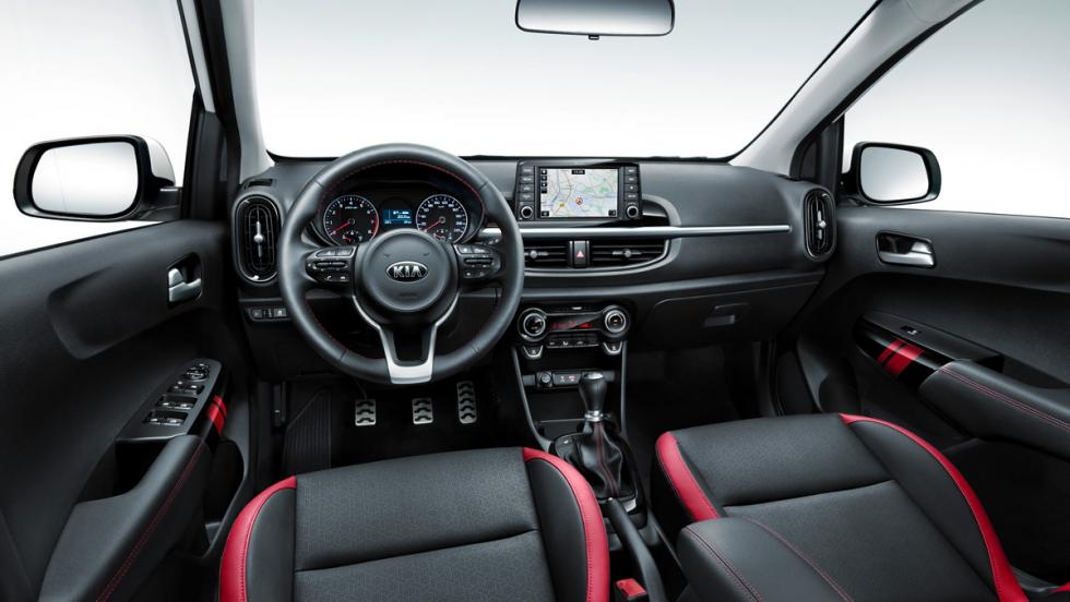 Kia Picanto 2017 interior