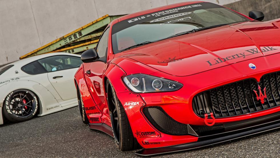 El Maserati GranTurismo de Liberty Walk
