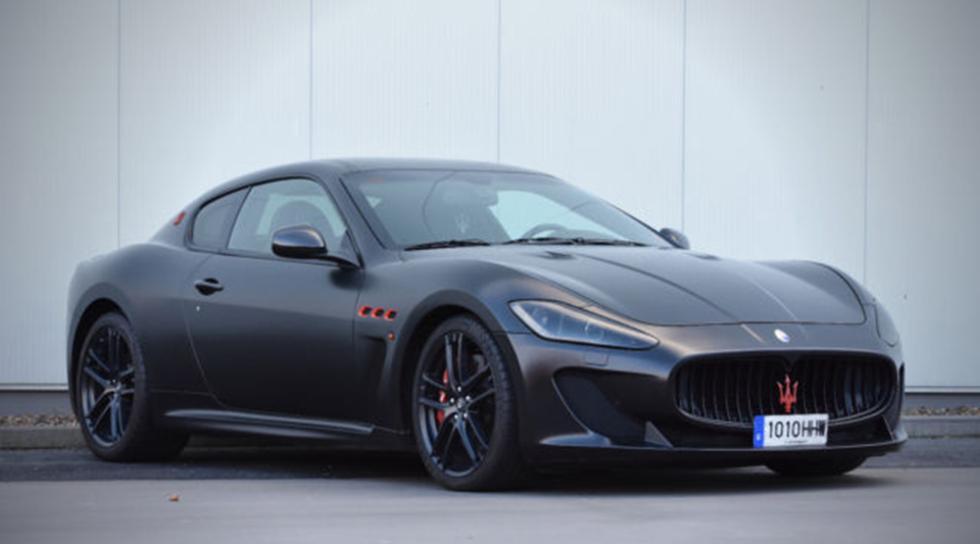 El Maserati de Messi sale a la venta