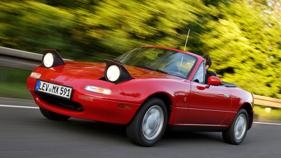 Mazda MX-5 NA inversion descapotable