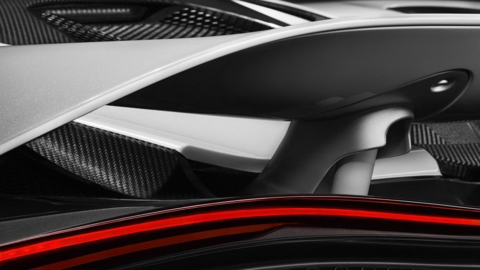 McLaren 720S teaser alerón detalle