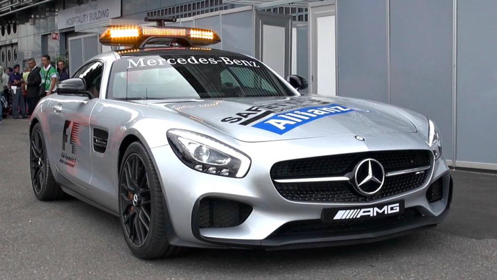 Mercedes AMG GT S, el safety a partir de 2015