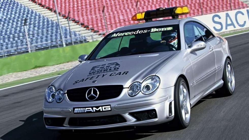 Mercedes decidió que su modelo CLK 55 AMG (BIS) sería el elegido para el año 2003