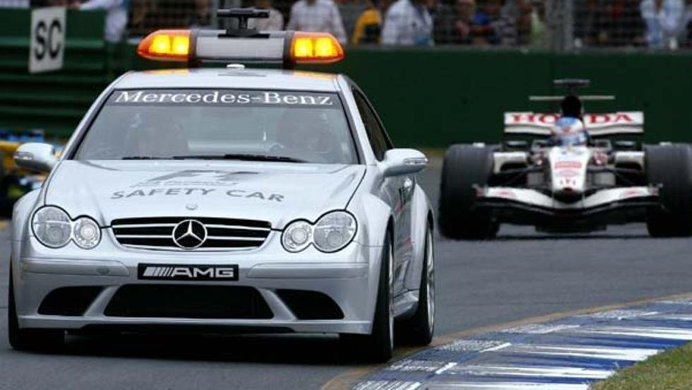 El coche de seguridad en 2006 y 2007 fue un Mercedes CLK 63 AMG
