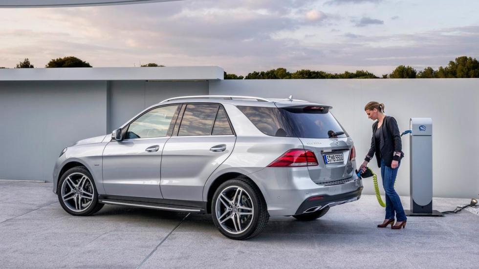 Mercedes GLE 500e SUV hibrido enchufable