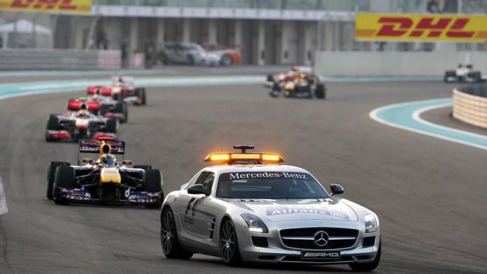 Mercedes SLS AMG, coche de seguridad entre 2010 y 2014