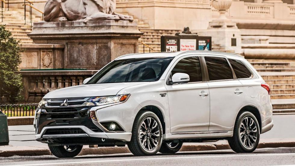 Mitsubishi Outlander PHEV SUV hibrido enchufable