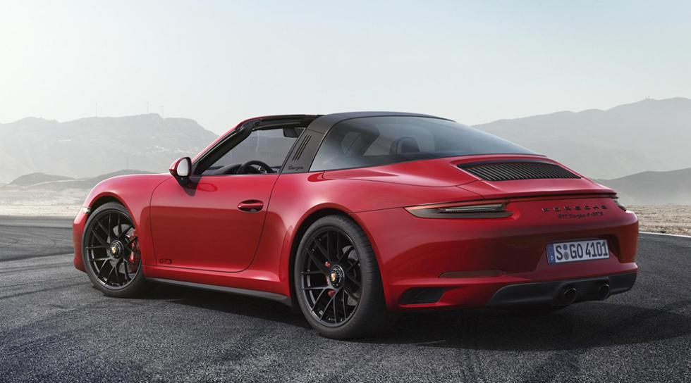 Nuevo Porsche 911 GTS 2017