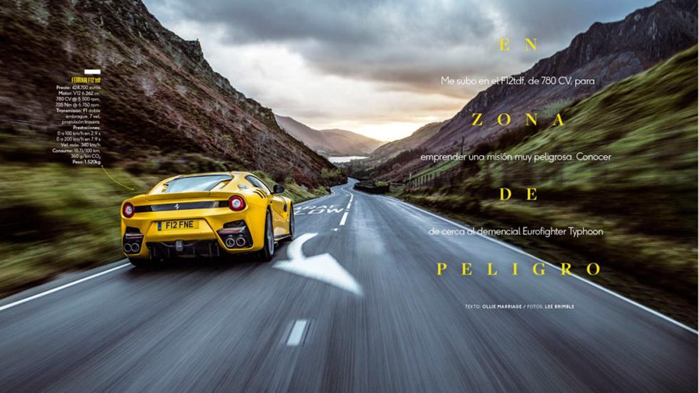 Número 5 Top Gear España, Ferrari F12tdf