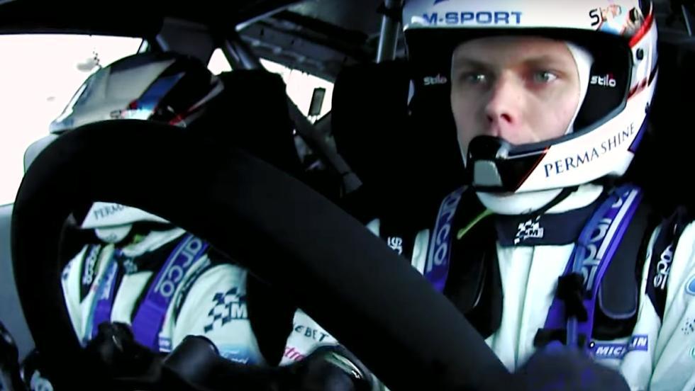 Ott Tänak en el Rally de Montecarlo